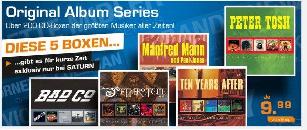 Saturn Online:5er CD-Boxen für je 11,98 € (inkl.Versand)