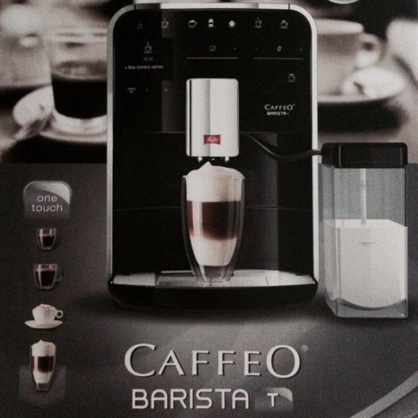 Melitta Caffeo Barista T in Silber oder Schwarz bei Media Markt mit -19% und Cashback -100€