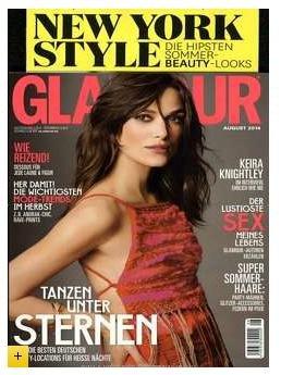 Glamour 6 Monatsabo + 15€ MeinPaket Gutschein für 10,25€