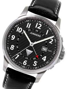 Junkers 6848-2 Dual Time Herrenuhr @uhrcenter.de