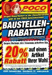 [offline] 20% Rabatt Poco Gelsenkirchen