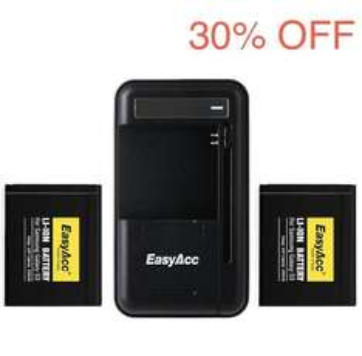 30% Rabatt auf EasyAcc Akkus für Samsung Handys