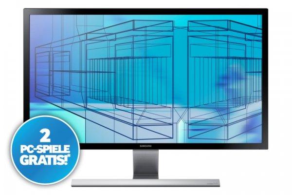 "Samsung 4K Monitor U28D590D LED-Display 71,12cm (28"")+ Anno 2070 Königsedition + Trials Fusion @Office-Partner.de"