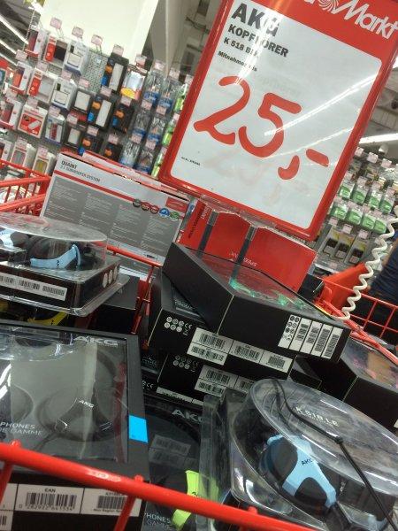 [lokal] AKG K518 für 20,25 EUR im Mediamarkt Dresden bis 29.07.
