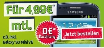 Vodafone (mobilcom-debitel) Smart Surf - 50 Minuten, 50 SMS, 1000MB Internet + Handy für effektiv 4,99 €