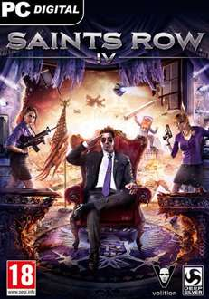 [Steam]Saints Row IV ROW - 100% Uncut für 4,99€