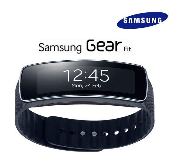 Samsung Galaxy Gear Fit Smart Watch SM-R350 Schwarz 139,90€