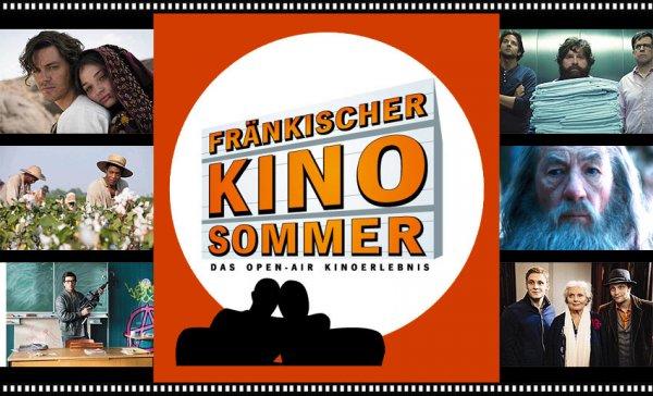 Gratis Open-Air-Kino in 7 Städen Oberfrankens - Termine bis Ende August!