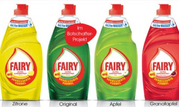 0,29€ Fairy Spülmittel bei Real dank Payback und P&G Coupon