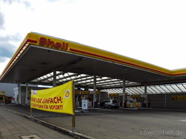 Shell - Braunschweig Weststadt - V-Power Diesel zum Dieselpreis tanken