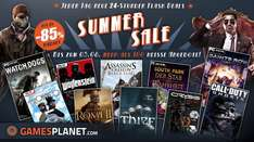 Gamesplanet mit Summersale