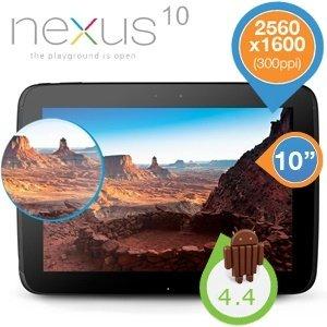 Google Nexus 10 16GB WiFi für 236 Euro @iBOOD