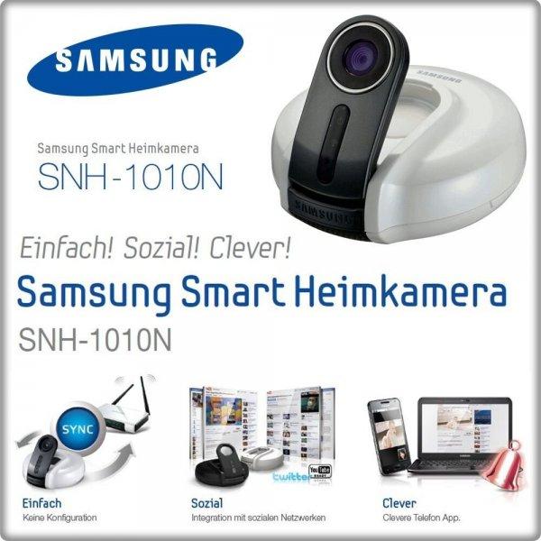 Samsung SNH-1010N (IP-Kamera) für 56 Euro @iBOOD