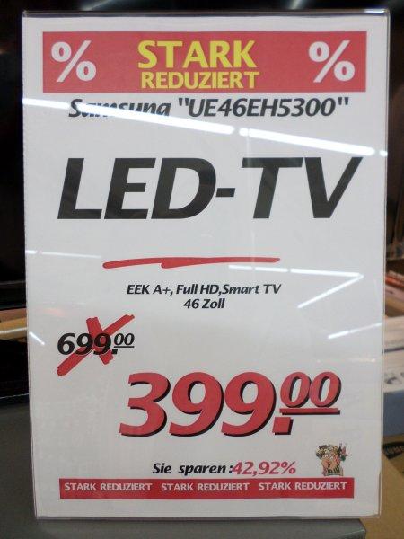 [Lokal Voerde] Samsung UE46EH5300 Smart TV