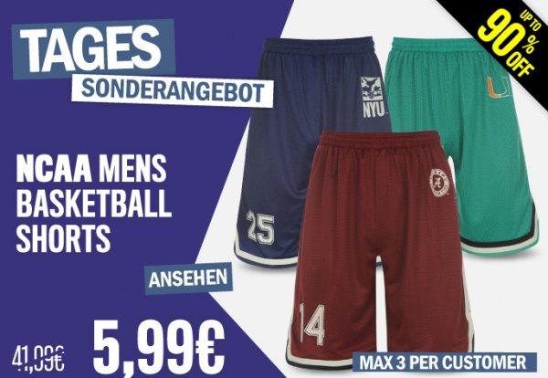 NCAA Basketball Shorts Mens, 4 Farben, 4,79 EUR, XS-XXL, VSK-frei