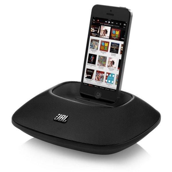 JBL OnBeat Micro, tragbarer Lautsprecher Dock inkl. iPhone 5 Connector @amazon