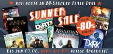 Summersale Gamesplanet bis -85%