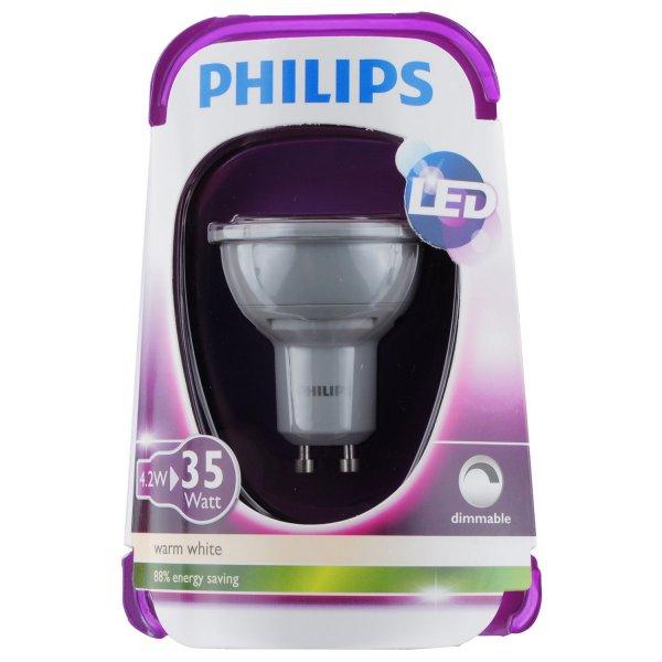 Dimbarer LED-Strahler 4,2W (entspricht 35W) für 4,99 EUR +VK