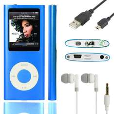 MP3/MP4 Player mit Display (8GB) mit Radio