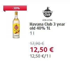 4 Liter Havana Club 3J frei Haus für EU Flugreisende bei Heinemann - viele andere gute Deals aus Special Offer möglich