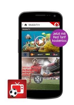Vodafone Mobile TV ab sofort kostenlos für alle RED-Tarife