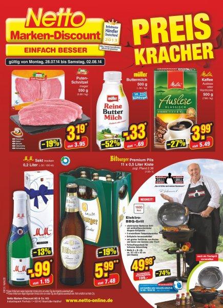Bitburger 11er Kasten Bei Netto für 5,99€