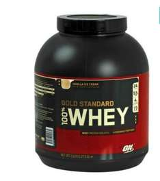 Optimum nutrition 100% Whey Gold 2273gr für 43,92 €