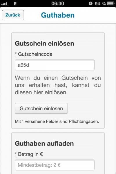 Ampido ParkApp 10 - 15 Euro Gratis Guthaben
