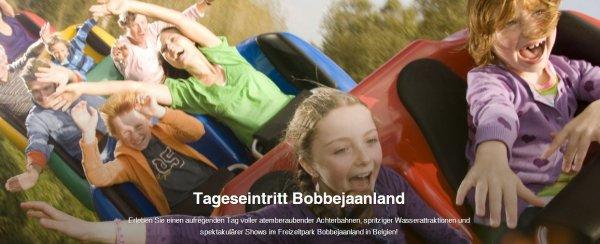Freizeitpark Bobbejaanland (Belgien) Tickets für 17,95€ statt 32€