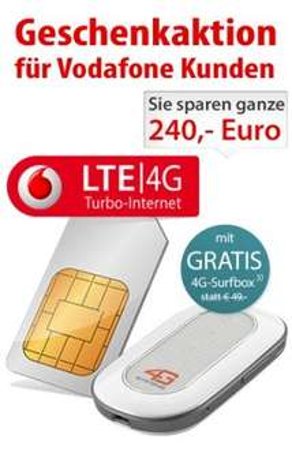 [getmobile.de] 4G Systems XSBox GO mit MIF 7,2 light Sim only Promo Bestandskundentarif  für 29,99€