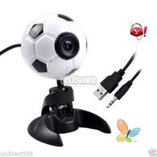 Fussball-Webcam mit Mikrofon USB für 1€ inkl. Versand [ebay]