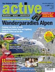 """active – Das Outdoor Magazin"" Ausgabe 3/2014 (Download)"