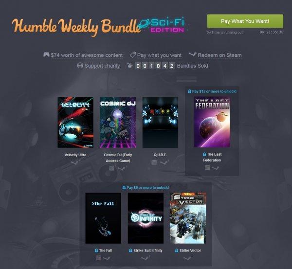 [Steam][Humble Weekly Bundle] Sci-Fi =)