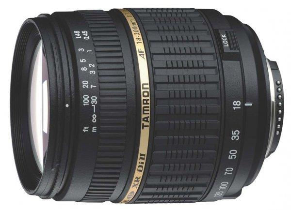 Amazon: Tamron 18-200mm Canon für 113,75€