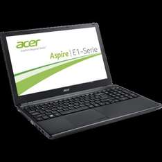 Acer Aspire E1-510-35204G50Dnkk, Quad-Core, 4GB RAM, 1366x768, matt, GB-LAN, Win8.1 für 249,90€ @ZackZack