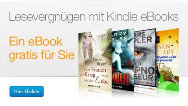 [Amazon] 1 von 4 Kindle Ebooks Gratis (bei eingegangener EMail)