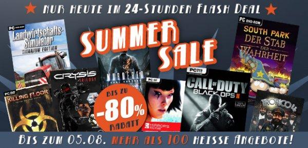 Gamesplanet Summersale Tag 4 U.a. Crysis Trilogy für 9,99€ Origin Key