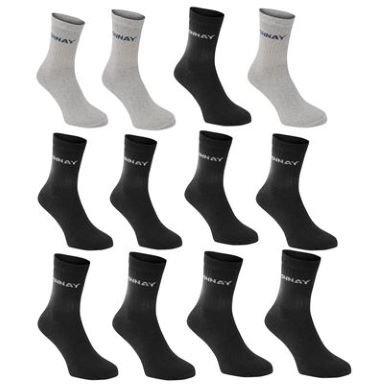 Donnay Crew Socken 12er Pack ab 4,19€ @SportsDirect