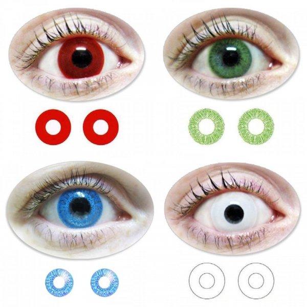 Trendisland.de - Totaler Ausverkauf des gesamten Kontaktlinsen Sortimentes Farblinsen 8,90 Euro / Motivlinsen 9,80 Euro