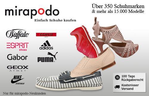 Mirapodo 40€ Gutschein für 15€ für Neukunden (40€ MBW)