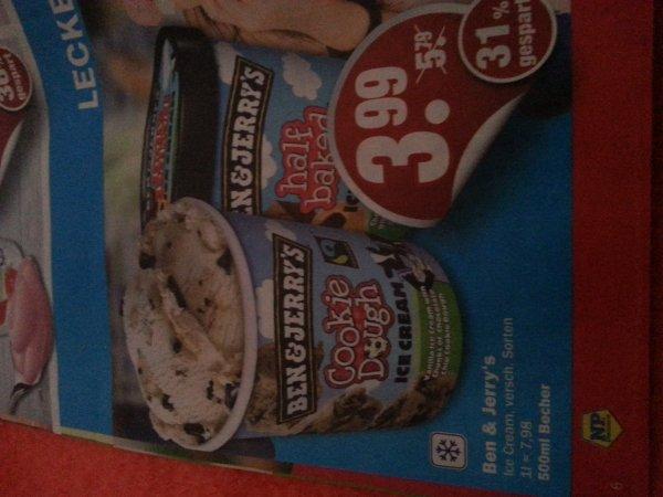 (lokal Neuruppin) Ben&Jerry's Eis 500 ml 3,99 im NP Markt vom 4-9.8.