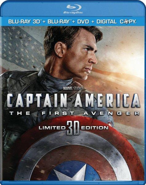 [CeDe.de] Captain America - The First Avenger (Blu-ray 3D) für 16,99€ inkl. VSK
