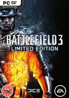 Battlefield 3 Limited Edition - Expansion Pack (PC - aus UK) 31,20 €
