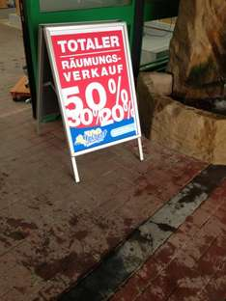(Lokal Hildesheim) Räumungsverkauf Zoo Meisert20-50 % auf alles