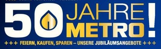 Metro Jubiläumsangebote (gültig bis 13.08., zwischen 5,6% und 46,8% Ersparnis)
