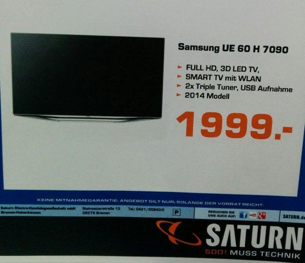 Samsung UE 60 H 7090 / Lokal @ Saturn Bremen Habenhausen