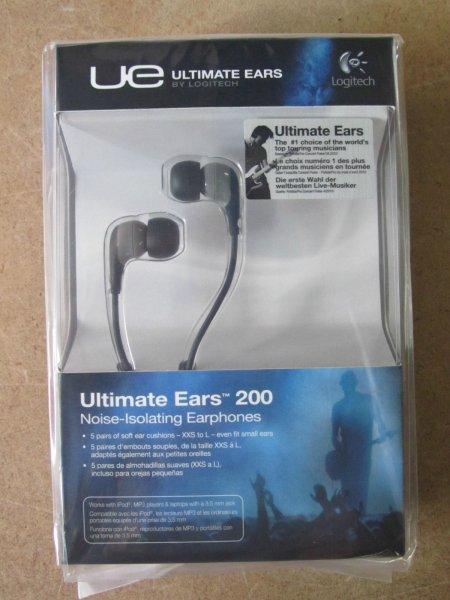 Logitech Ultimate Ears 200 Noise-Isolating In-Ear für 9,90 statt 12,50