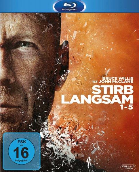 Stirb langsam 1-5 [Blu-ray] für 25€ @Amazon.de
