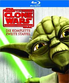 [Amazon Prime] Star Wars: The Clone Wars - Staffel 2 [Blu-ray] für 17,97€