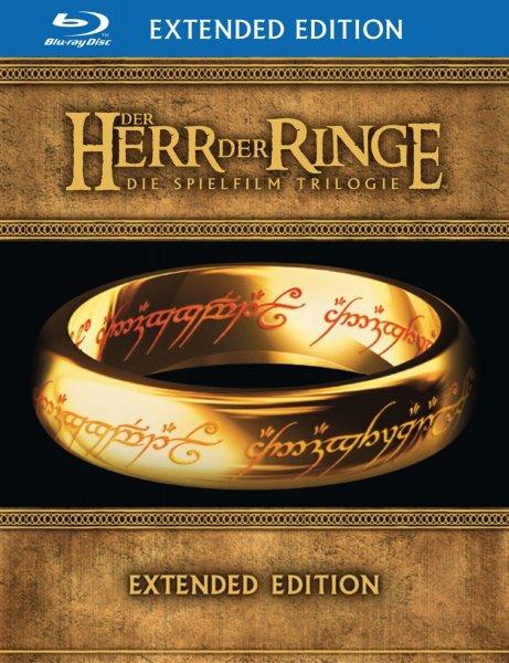 Der Herr der Ringe - Trilogie [Blu-ray] (Extended Edition: 6 BDs + 9 DVDs) für 39,99€